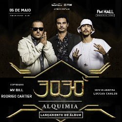 3030 - Lançamento do álbum Alquimia no FM Hall Marina da Glória