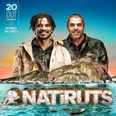 Show do Natiruts - Aniversário do Bondinho Pão de Açúcar EVENTO ESGOTADO!!!