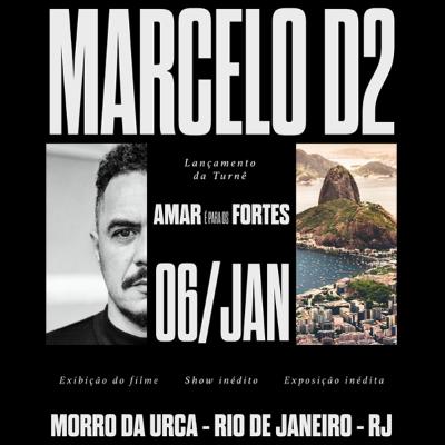 Amar é Para Os Fortes - Marcelo D2