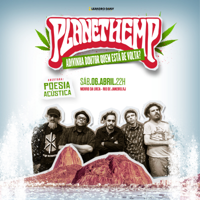 Planet Hemp ao vivo no Morro da Urca