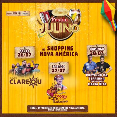 Festão Julino - 26/07