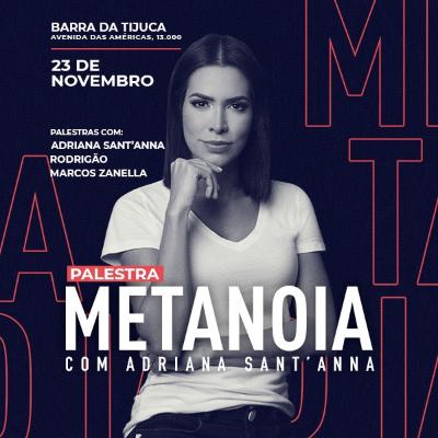 Palestra Metanoia com Adriana Santanna