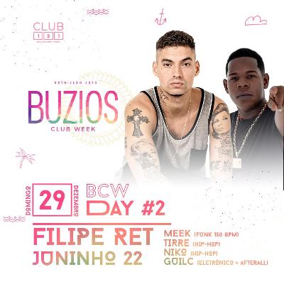 Búzios Club Week Réveillon 2020 29/12