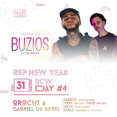 Búzios Club Week Réveillon 2020 31/12