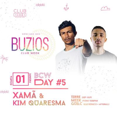 Búzios Club Week Réveillon 2020 01/01
