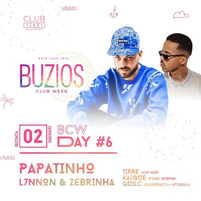 Búzios Club Week Réveillon 2020 02/01