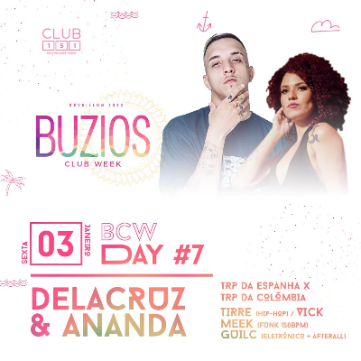 Búzios Club Week Réveillon 2020 03/01