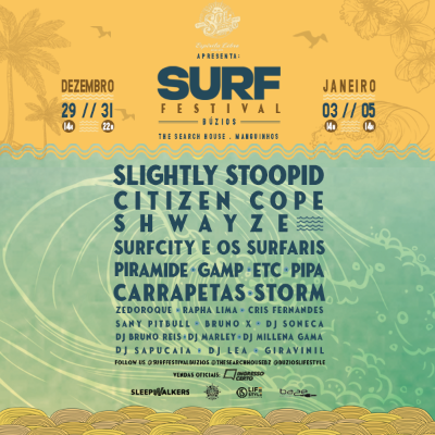 Surf Festival – Citizen Cope + Storm ϟ