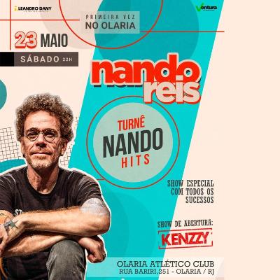 Nando Reis em Olaria - Turnê Nando Hits- EVENTO ADIADO