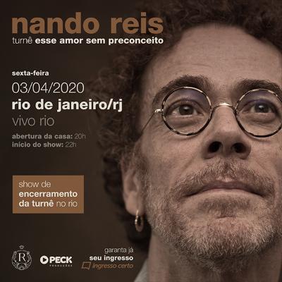 Nando Reis turnê Esse Amor sem Preconceito