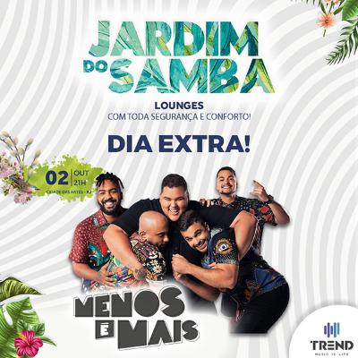 Jardim do Samba - Menos é Mais (Data Extra)