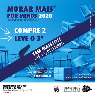 Morar Mais por Menos - 2020 - 05/11 a 13/12