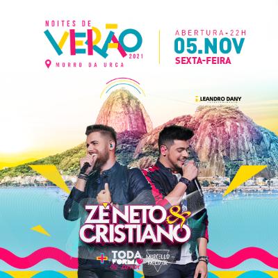 Zé Neto e Cristiano no Morro da Urca - NOVA DATA!!!