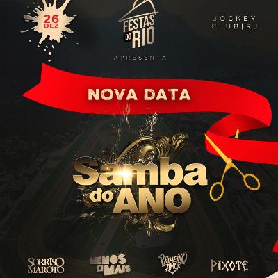 Samba do Ano - NOVA DATA