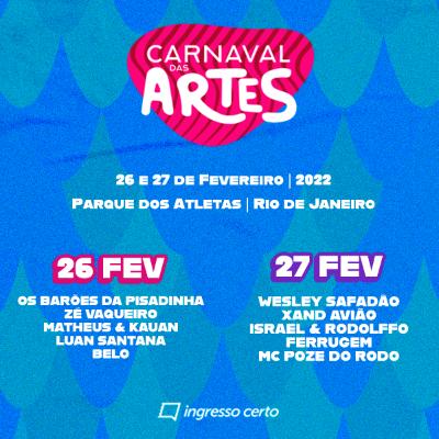 Carnaval das Artes - 27/02
